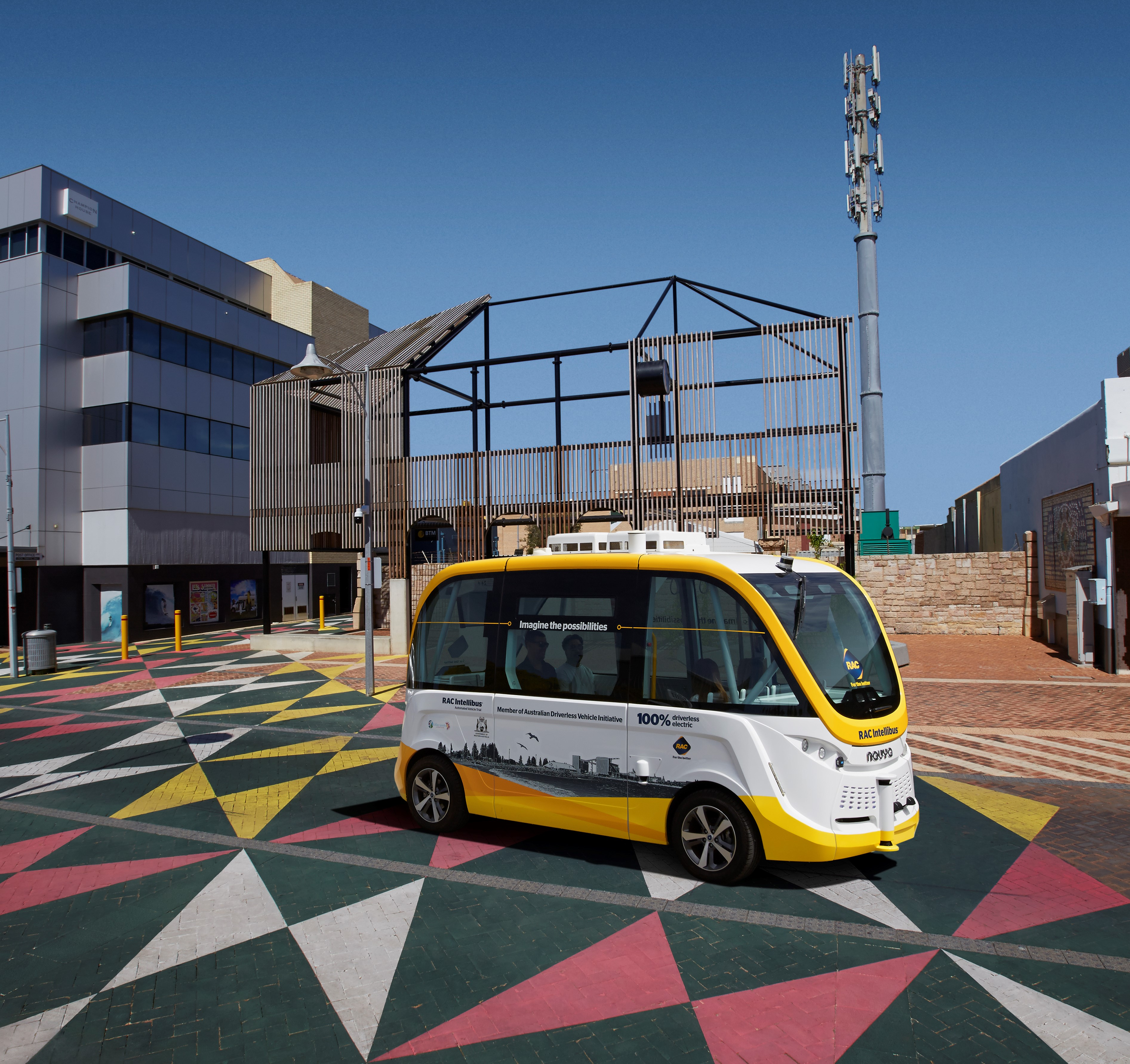 The RAC Intellibus® on the Geraldton Foreshore