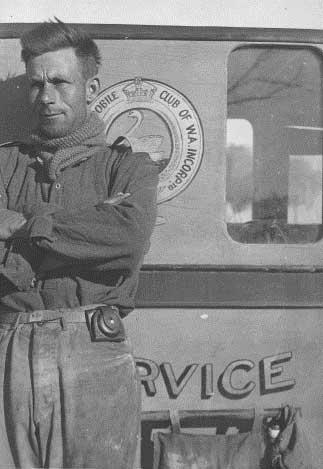 Pioneer patrol officer, representing the spirit of all RAC patrols