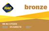 Bronze membership card