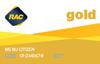 Gold membership card