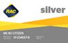 Silver membership card