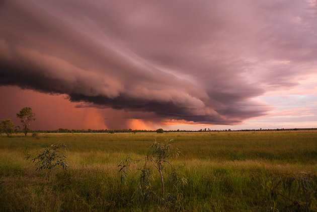 A storm brewing at Willare in WA's Kimberley