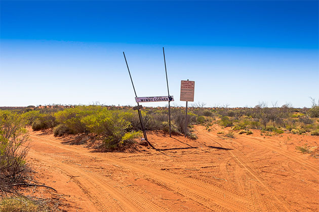 Windy Corner of the Canning Stock Route