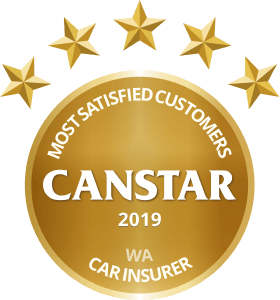 CANSTAR 2019 - Most Satisfied Customers - Car Insurer - WA_OL
