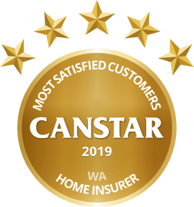 CANSTAR 2019 - Most Satisfied Customers - Home Insurer - WA